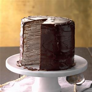 Decadent Chocolate Crepe Cake Recipe
