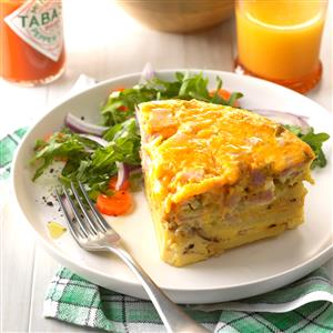 Denver Omelet Frittata Recipe