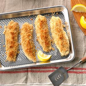 Dijon-Crusted Fish Recipe