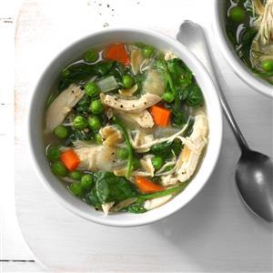 Dill Chicken Soup Recipe