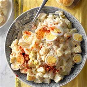 Dilly Potato & Egg Salad Recipe