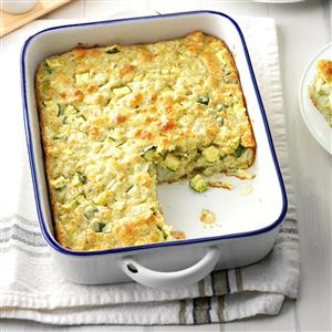 Dilly Zucchini Casserole Recipe