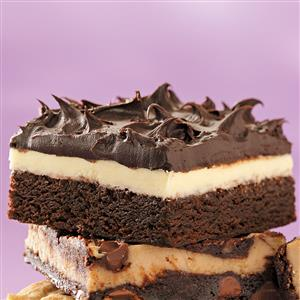 Double Frosted Brownies Recipe