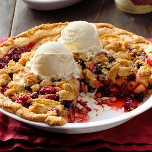Dutch Cranberry-Apple Pie Recipe