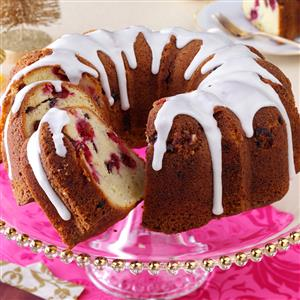 Cranberry-Almond Pound Cake Recipe