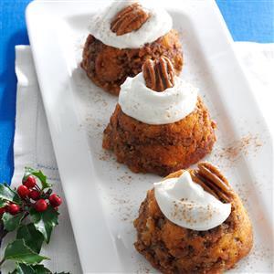 Sticky Bread Pudding Cups Recipe
