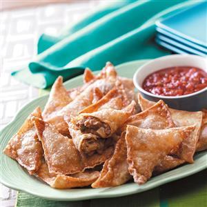 Southwestern Appetizer Triangles Recipe