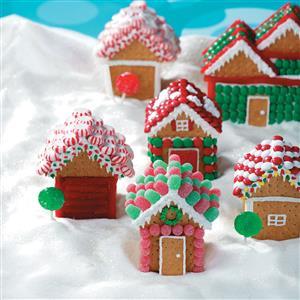 Christmas Village Houses Recipe