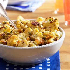 Browned Butter Roasted Cauliflower Recipe