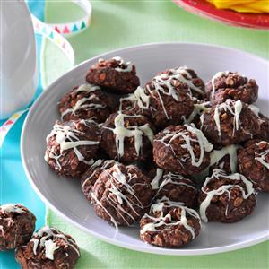 No-Bake Fudgy Coconut Cookies Recipe