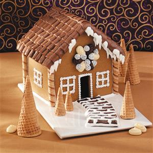 Mini Gingerbread House Recipe