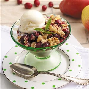 Cranberry Pear Crisp Recipe
