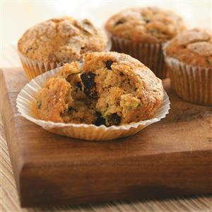 Orange Zucchini Muffins Recipe