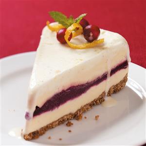 Cran-Orange Ice Cream Cake Recipe