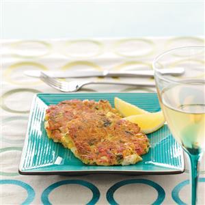 Crab Cakes with Fresh Lemon Recipe