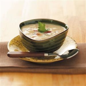 Makeover Baked Potato Soup Recipe