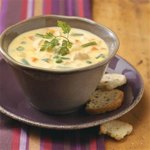Cheese Chicken Soup Recipe