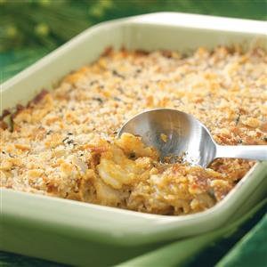 Crunchy Au Gratin Potatoes Recipe