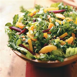 Beet Salad with Orange-Walnut Dressing Recipe
