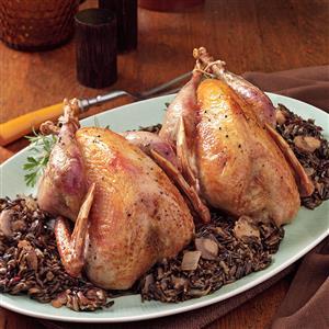 Pheasant and Wild Rice Recipe