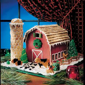 Gingerbread Barn Recipe