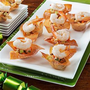 Cilantro Shrimp Cups Recipe