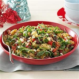 Portobello Gnocchi Salad Recipe