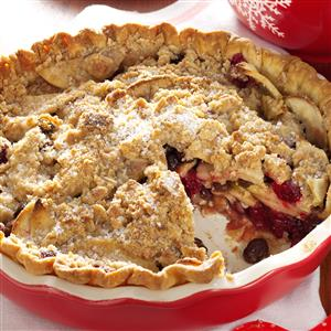 Dutch Cranberry-Apple Pie