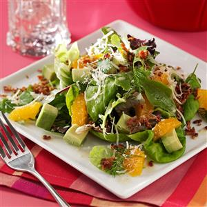 Avocado Tangerine Salad Recipe