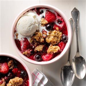 Jumbleberry Crumble Recipe
