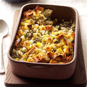 Cornbread Dressing with Oysters Recipe