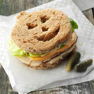 Jack-o'-Lantern Sandwiches Recipe