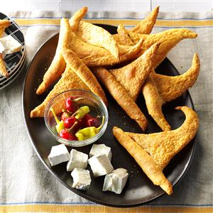 Crescent Roll Witch Hats Recipe