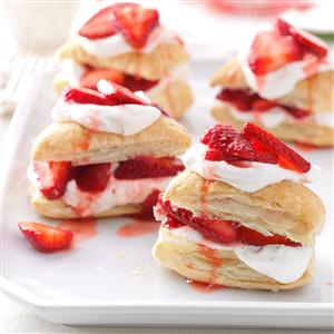 Strawberry Shortcake Stacks Recipe