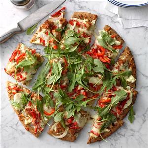 Sausage-Topped White Pizza Recipe