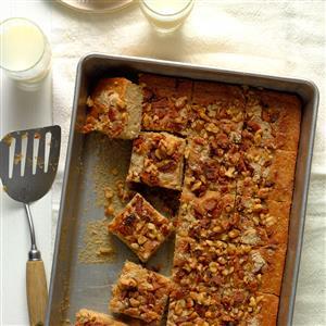 Maple Bacon Walnut Coffee Cake Recipe