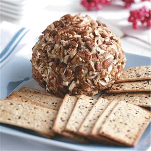 Gorgonzola & Cranberry Cheese Ball Recipe