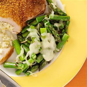 Early-Bird Asparagus Supreme Recipe