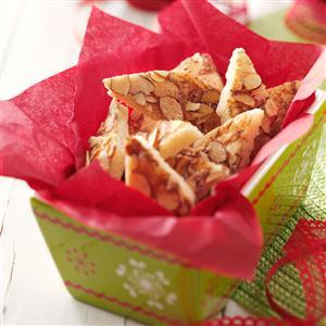 Easy Almond Bars Recipe