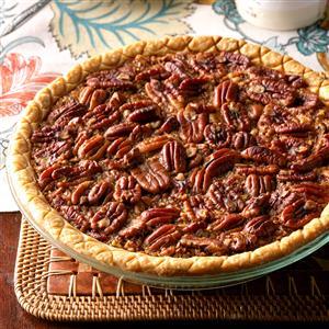 Easy Bourbon Pecan Pie Recipe