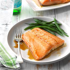 Easy Glazed Salmon Recipe