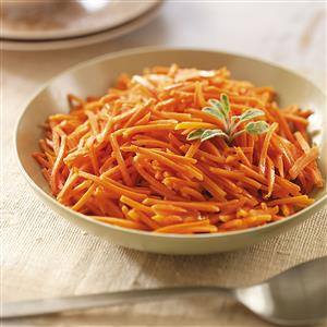 Easy Honey Mustard Carrots