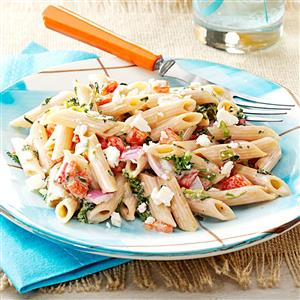 Easy Pasta Salad for a Crowd Recipe