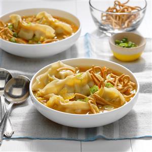Easy Potsticker Soup Recipe
