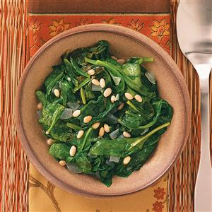 Easy Sauteed Spinach for Two Recipe
