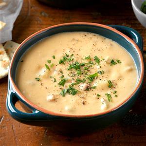 Easy Slow-Cooked Potato Soup Recipe