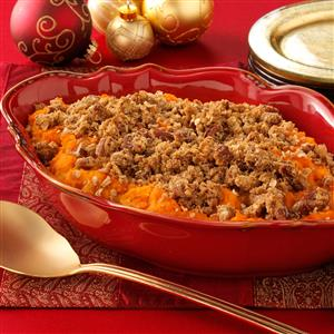 Eggnog Sweet Potato Casserole Recipe