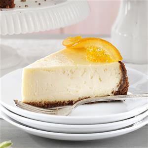Elegant Orange Blossom Cheesecake Recipe