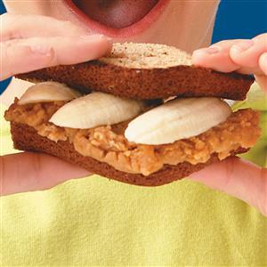 Elvis's Banana Sandwiches Recipe