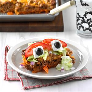 Eyeball Taco Salad Recipe